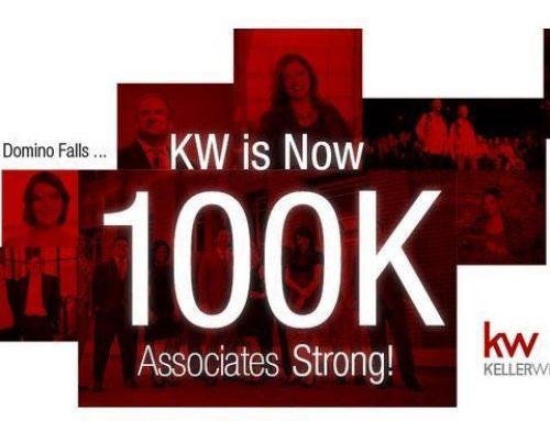 Keller Williams Realty   Tops 100,000 In Associate Count